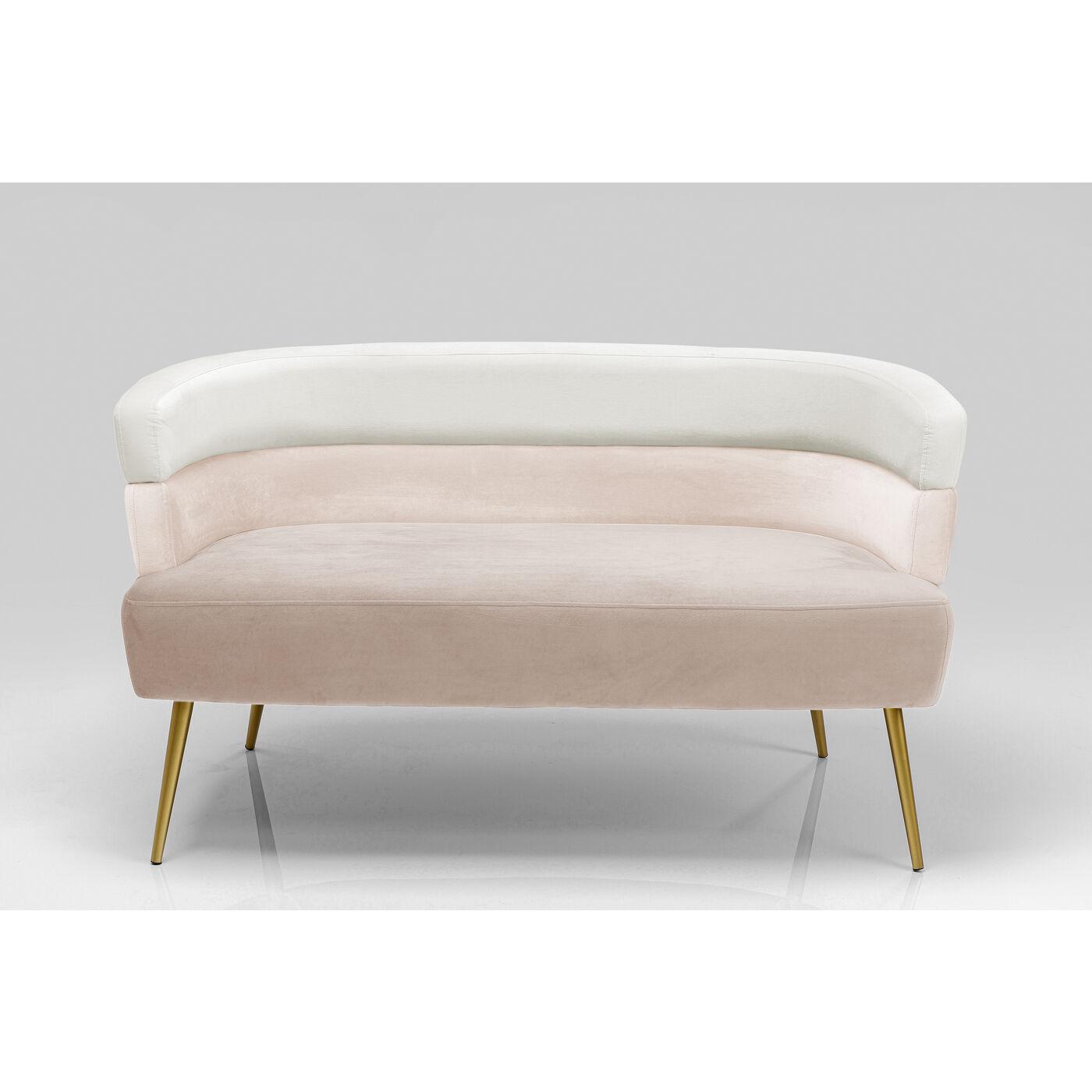 Sofa Sandwich 2-Sitzer Creme